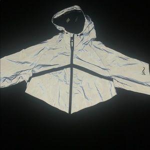 Brand new Jogger  3M reflective windbreaker jacket